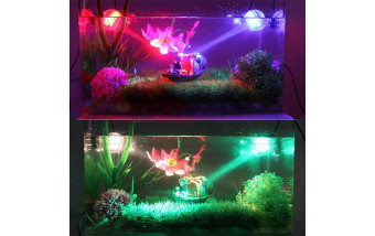 Основное и декоративное освещение для аквариума