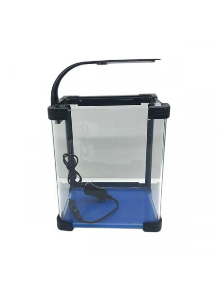 Аквариум прямоугольный стекло, 10 литров 220х170х250мм (ZELAQUA)