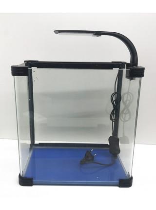 Аквариум прямоугольный стекло, 20 литров 310х210х320мм (ZELAQUA)