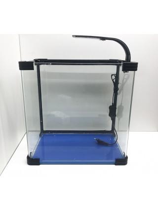 Аквариум прямоугольный стекло, 40 литров 380х250х390мм (ZELAQUA)