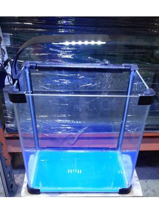Аквариум прямоугольный стекло, 60 литров 480х300х410мм (ZELAQUA)