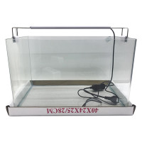"""Аквариум""""5в1"""" стекло, 30 литров 400х250х280 (ZELAQUA)"""