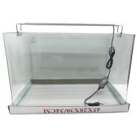 """Аквариум""""5в1"""" стекло, 40 литров 450х300х300мм (ZELAQUA)"""