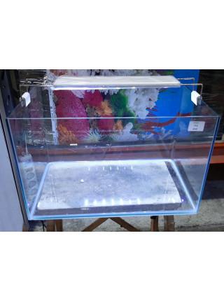 Аквариум прямоугольный стекло, 40 литров 450х300х300мм (ZELAQUA)