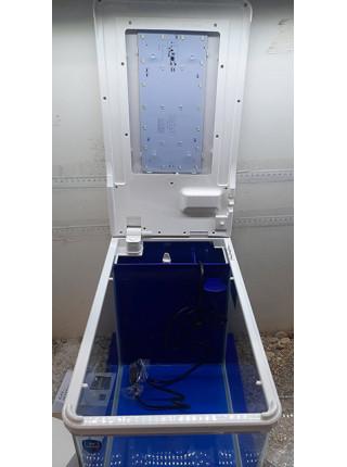 Аквариумный комплекс Q3-400Б, 22 литра (белый) (ZELAQUA)
