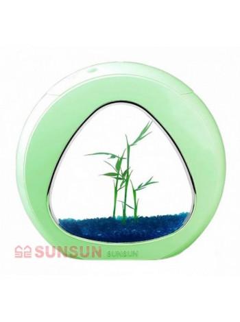 """Аквариумный комплект """"sunsun"""" YA-01 зеленый, 4 л"""
