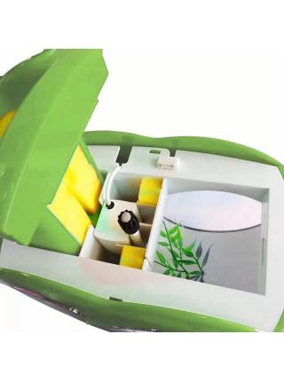 """Аквариум комплект """"sunsun"""" YB-02 зеленый, 4.5 литра"""