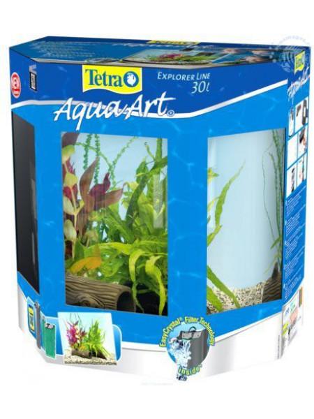 """Аквариум Tetra AquaArt Crayfish """"Полумесяц"""" 30 литров"""