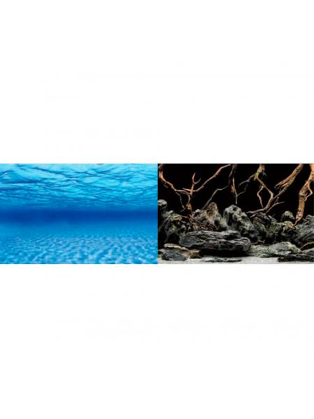 Фон для аквариума Barbus Sea Scape/Natural Mystic (1 м. высота 60 см.)