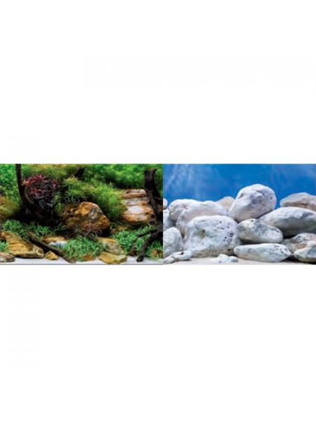 Фон для аквариума Barbus Фон Aqua/Garden, Bright Stone (1 м. высота 60 см.)