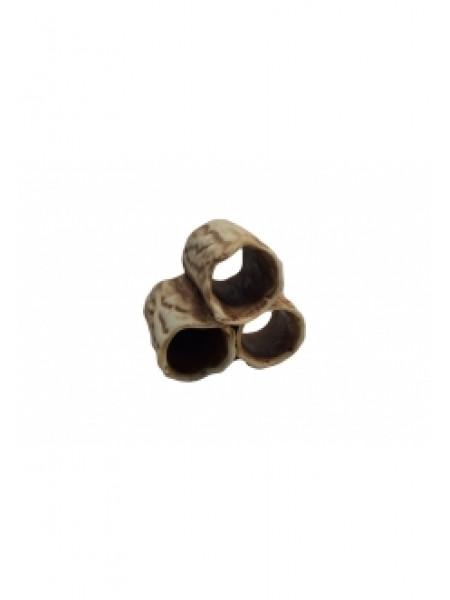 "Грот ""Трубочки тройные короткие"" (7х7х7) см."