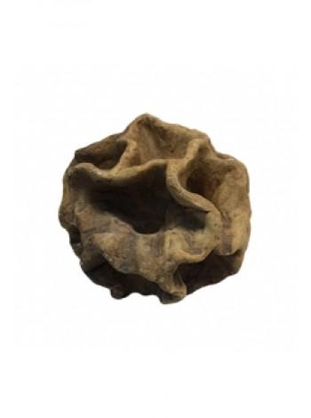 """Грот """"Камень керамический лопух"""" (19х18х19) см"""