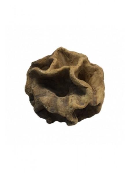 """Грот """"Камень керамический лопух"""" (19х18х19) см."""
