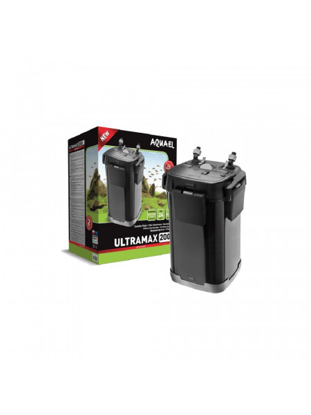 Внешний фильтр Aquael ULTRAMAX 2000 24w, 2000л/ч (до 700 л)