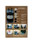 Внешний фильтр Astro 2210 (KW), 1230 л/ч, до 250 литров.