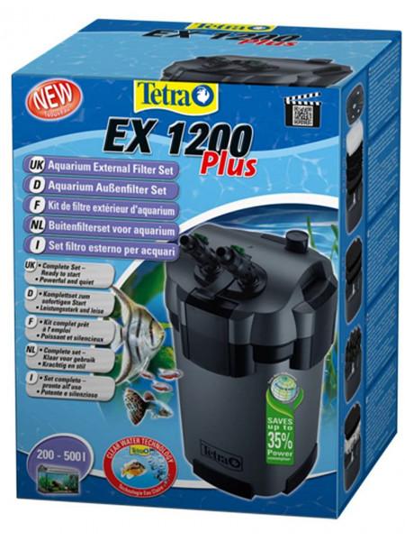 Tetra EX 1200 Plus - внешний фильтр для аквариумов от 200 до 500 литров