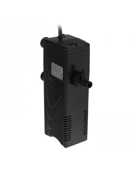 Внутренний фильтр DOPHIN FB-1000F (KW) 3.3 ВТ. 300 л./ч с дождиком и углем