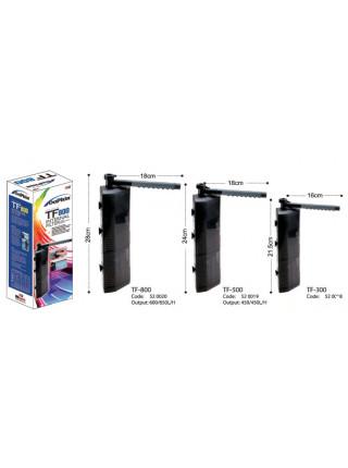 Внутренний фильтр угловой Dophin TF-500 (KW) 6 Вт 450 л/ч для аквариумов до 100 л