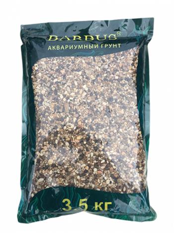 Грунт BARBUS речная галька 2-3 мм