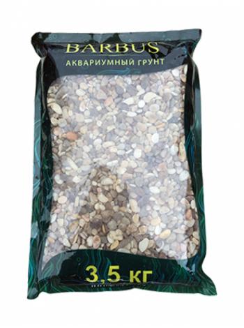 Грунт BARBUS речная галька 2-5 мм.