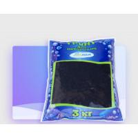 Грунт Zelaqua мрамор крашенный черный 4-6мм 3 кг