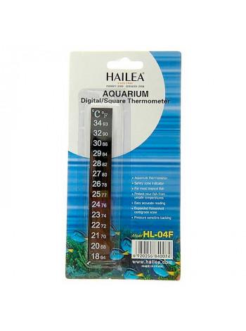 Термометр для аквариума Hailea (жидкокристаллический 13см.)