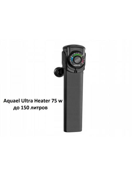 Электронный нагреватель Aquael Ultra Heater 75 w до 150 литров