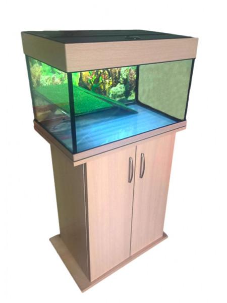 Террариум с тумбой Аквас 100 литров  (66х41х47) см.