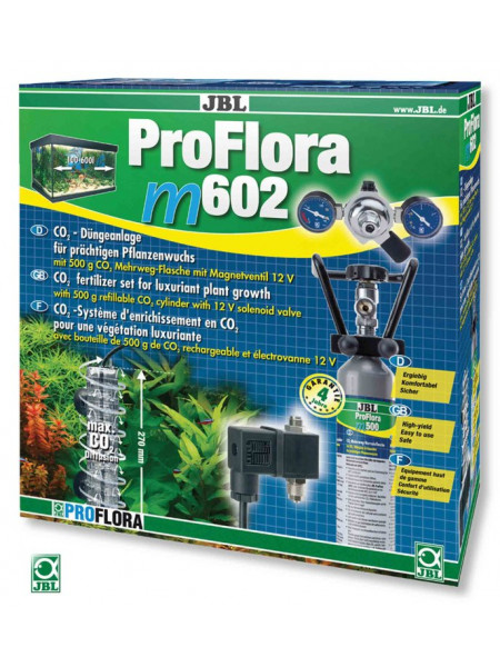 Система СО2 JBL ProFlora m602
