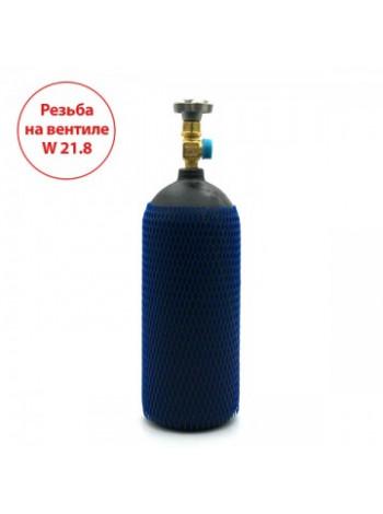 Баллон на 4 литра с вентилем CAVAGNA с выходом W21,8