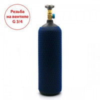 Баллон на 5 литров с вентилем CAVAGNA с выходом W21,8 (Европейский стандарт)