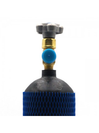 Баллон на 2 литра с вентилем CAVAGNA с выходом W21,8 (Европейский стандарт)