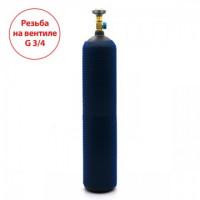 Баллон на 10 литров с вентилем ВК-94-01 с выходом G3/4 (Российский стандарт)