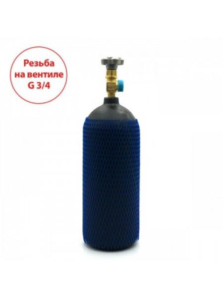 Баллон на 4 литра с вентилем ВК-94-01 с выходом G3/4 (Российский стандарт)