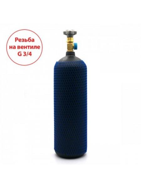 Баллон на 5 литров с вентилем ВК-94-01 с выходом G3/4 (Российский стандарт)