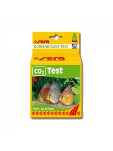 Тест для аквариума на угликислый газ Sera CO2-Test 15мл.