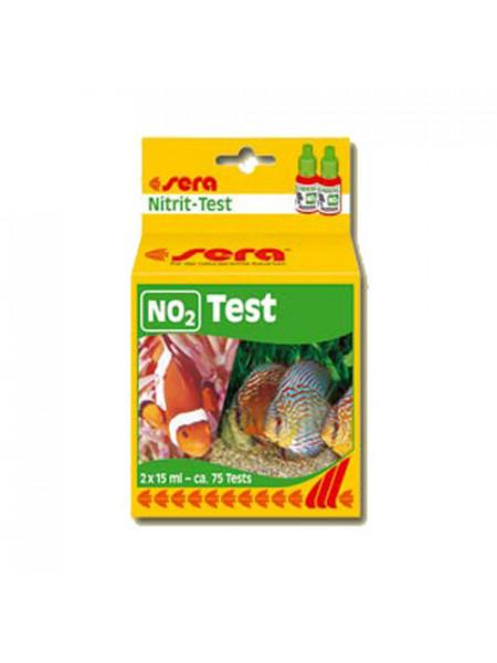 Тест для аквариума Нитрит Sera NO2-Test 2x15мл.