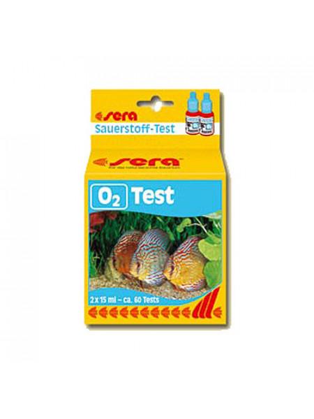 Тест для аквариума Кислород Sera O2-Test 2x15мл.